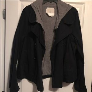 Navy & Gray HEI jacket from Anthropologie. Size L
